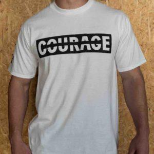 camiseta crossfit coraje