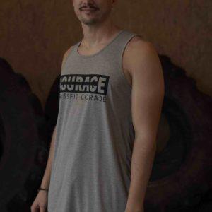 camiseta tirantes crossfit coraje