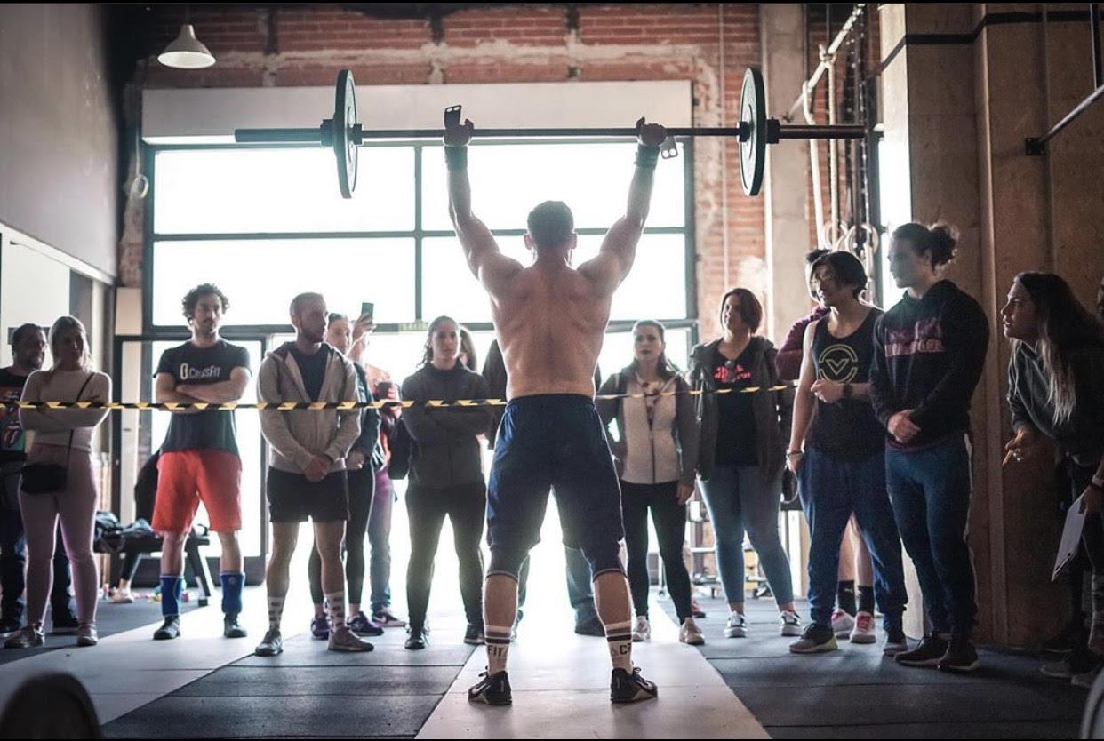 crossfit box entrenamiento en casa covid19